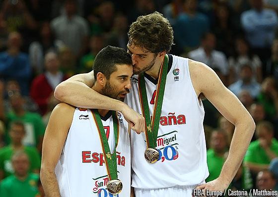 Pau y Navarro son los referentes de la mejor generación del baloncesto español. (Foto: FIBA Europa)