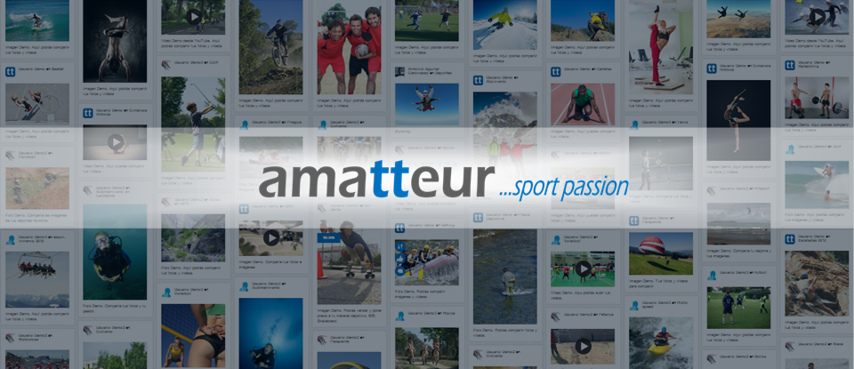 Amatteur.com es una red social para deportistas con un importante contenido social
