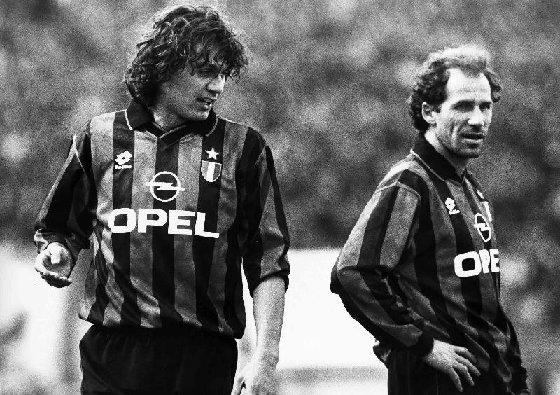 Baresi y Maldini, leyendas del Milan, nunca consiguieron el preciado trofeo.