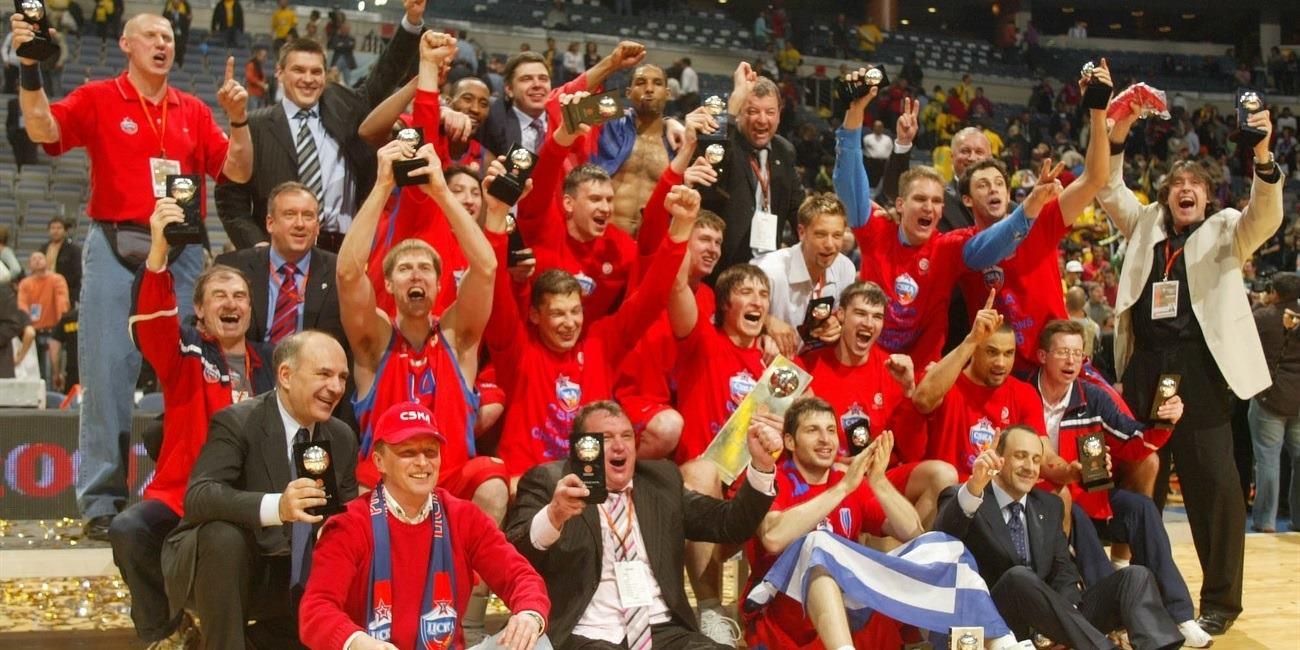 Al año siguiente de establecer su récord de victorias, el CSKA conquistó la Euroliga tras 35 años sin hacerlo.