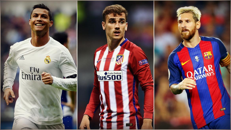 Cristiano Ronaldo ganará el Balón de Oro 2016 seguido por Messi y Griezmann.