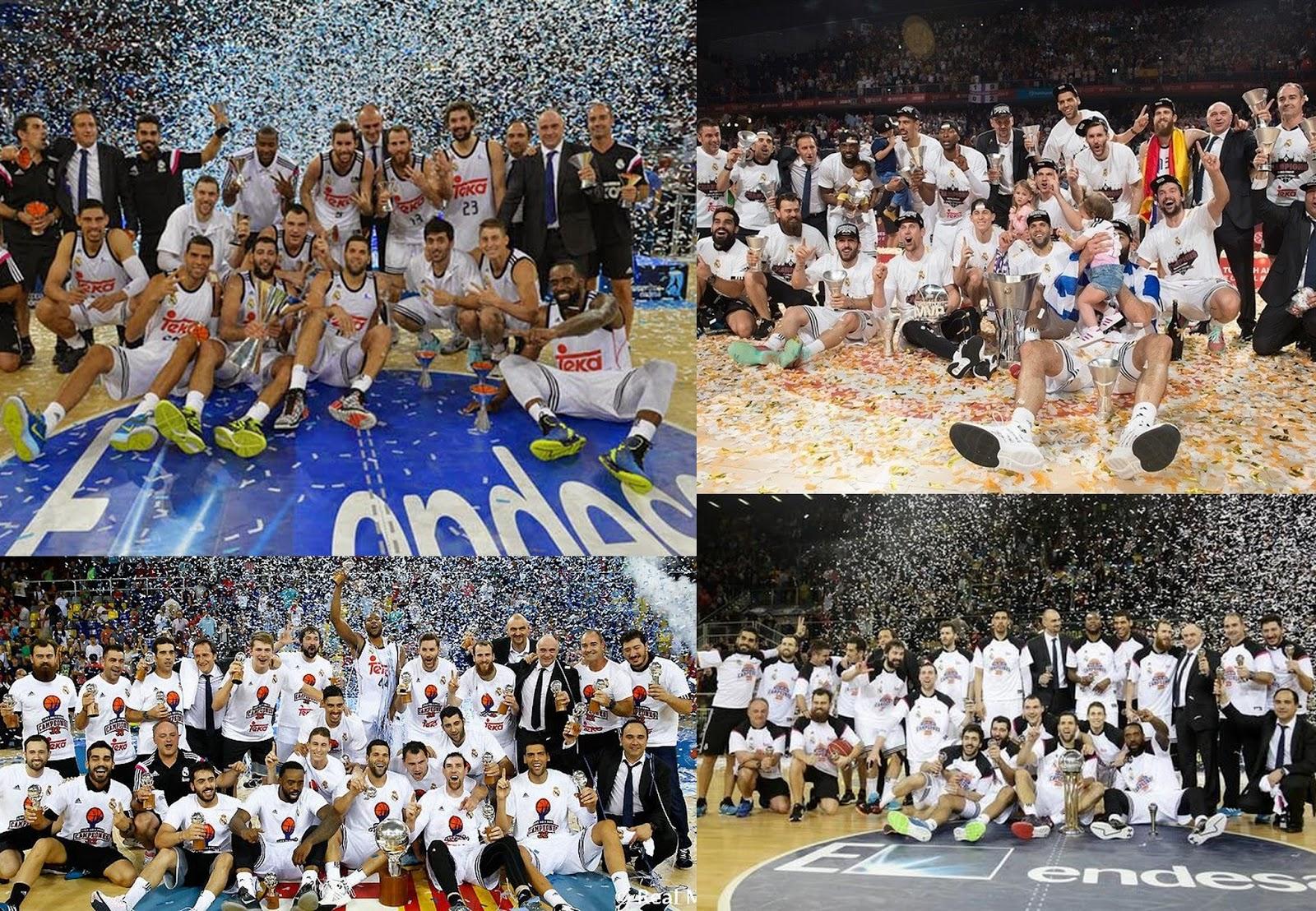 El Real Madrid consiguió conquistar en 2015 todos los títulos en juego.