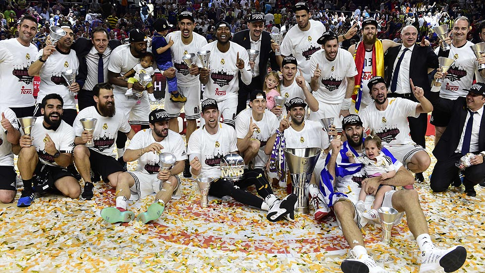 Tras conquistar su novena Euroliga, el Real Madrid intentará revalidar su título en Berlín.