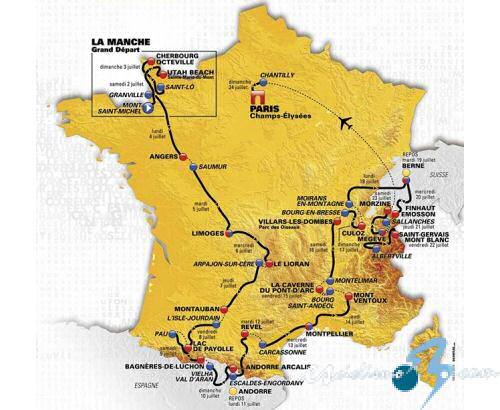 El Tour de Francia 2016 es una de las ediciones más montañosas de los últimos años.