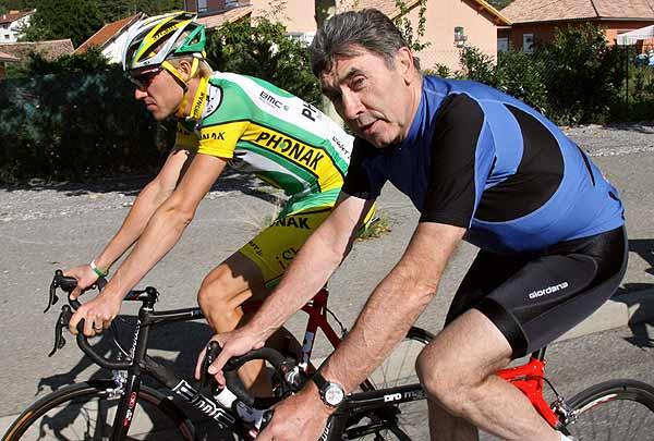 La sombra de Eddy Merckx fue demasiado alargada para Alex.