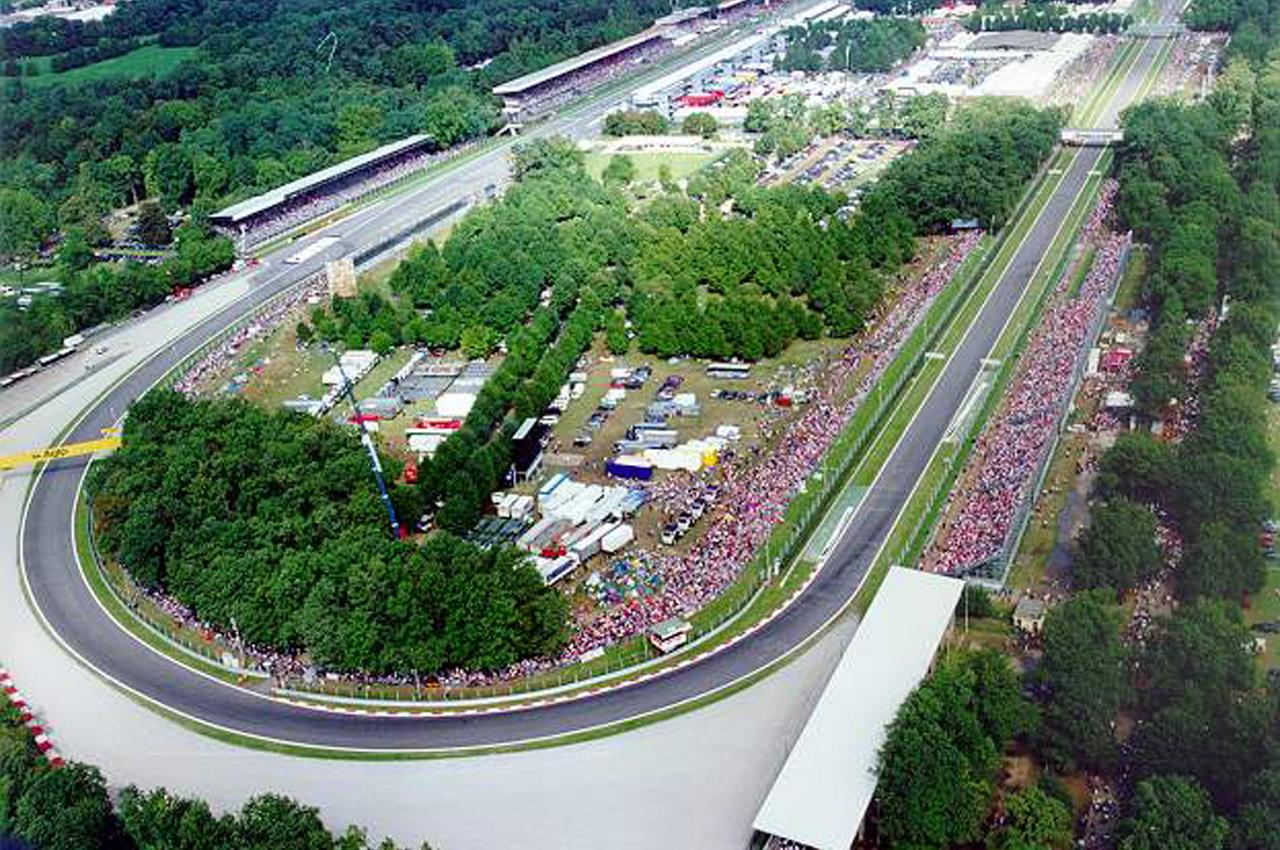 El circuito de Monza es la sede del Gran Premio de Italia del mundial de Fórmula 1.
