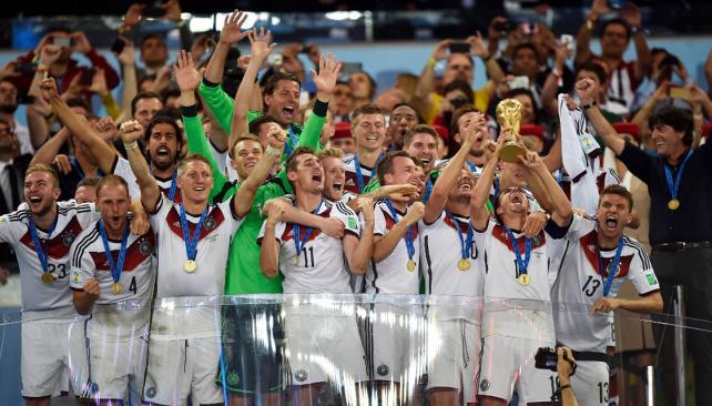 Tras varios campeonatos cerca del título, Alemania por fin lo consiguió en Brasil 2014.