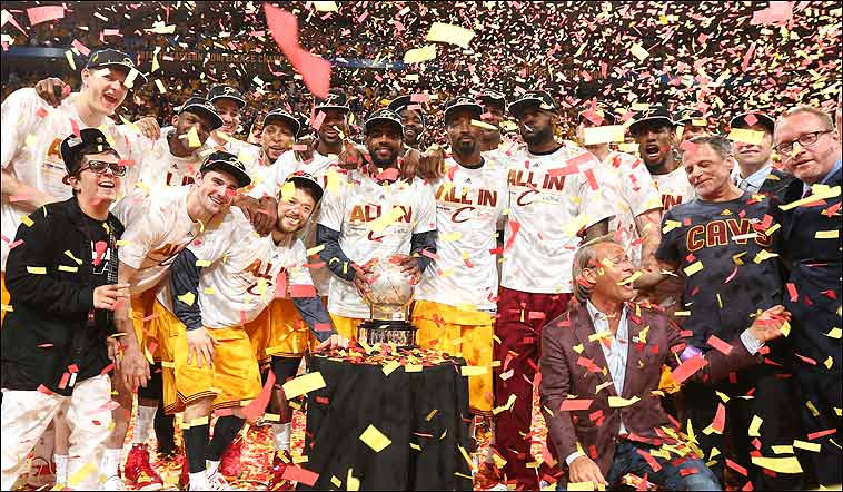 Los Cavaliers de Lebron James siguen siendo un año más el equipo a batir en la Conferencia Este.