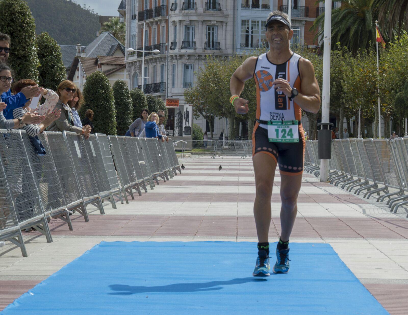 Berna acaba de revalidar su título de campeón de España de cuadriatlón.
