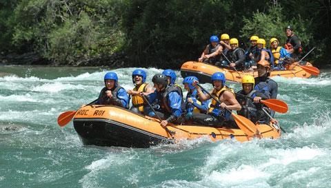 El turismo de aventura no deja de crecer en España.