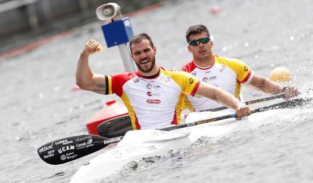 Saúl Craviotto consiguió dos medallas en Río, una de oro junto a Toro.
