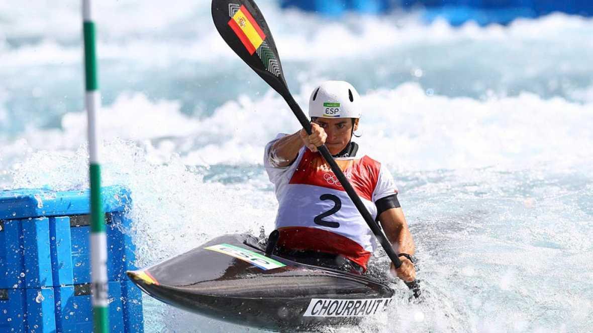 Maialen Chourraut consiguió el oro en kayak de aguas bravas en Río.