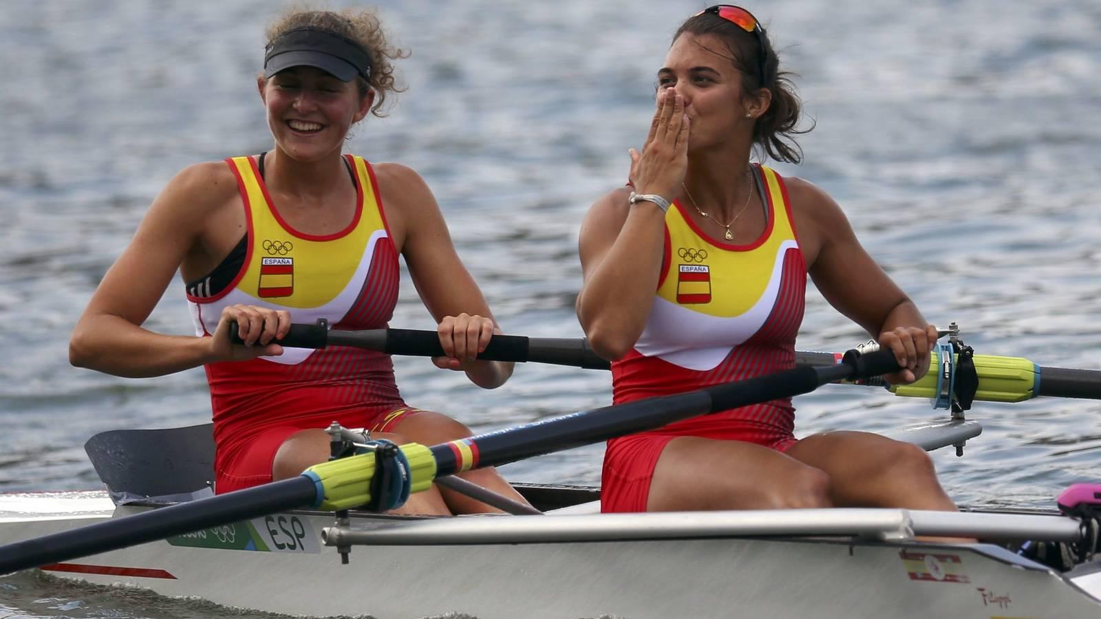 Anna Boada y Aina Cid consiguieron el diploma olímpico en Río en dos sin timonel.