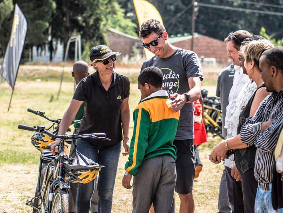 El Dimension Data colabora para mejorar la situación de niños desfavorecidos en Sudáfrica.