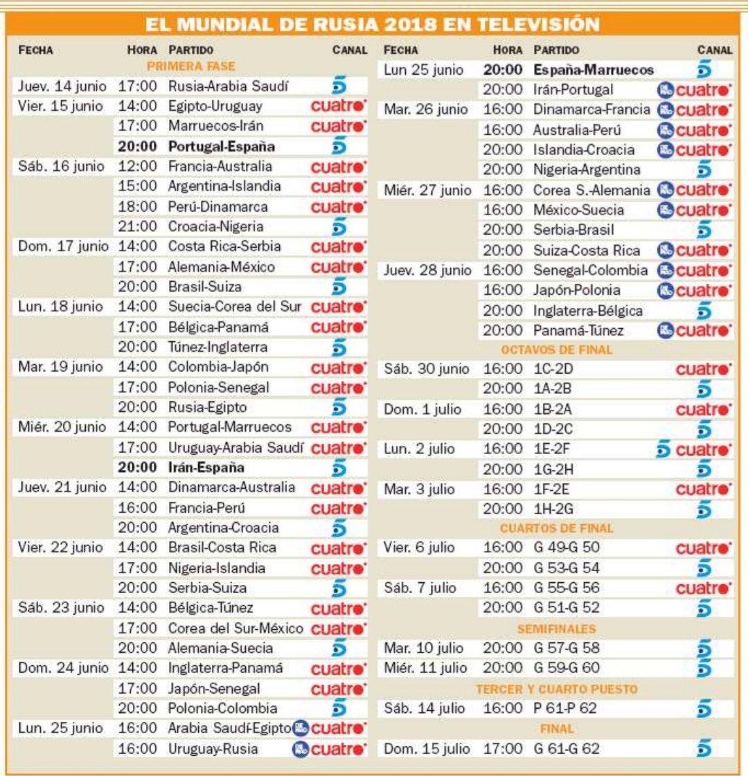 Grupos Sedes Y Calendario Del Mundial De Rusia 2018 Deporadictos